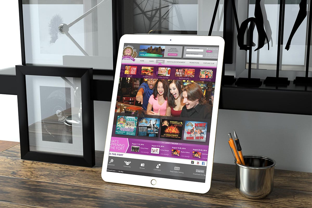 Fort McDowell Casino | Case Studies | iPad | Big Marlin Group