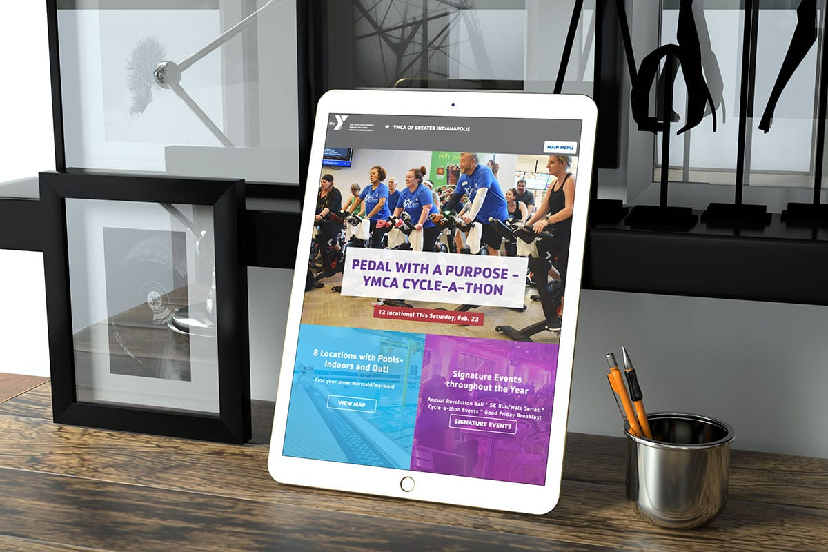 Responsive Website | YMCA of Greater Indianapolis | Case Studies | Big Marlin Group