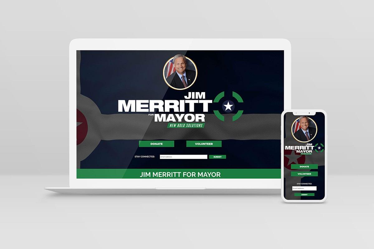 Senator Jim Merritt | Case Studies | Laptop | Big Marlin Group