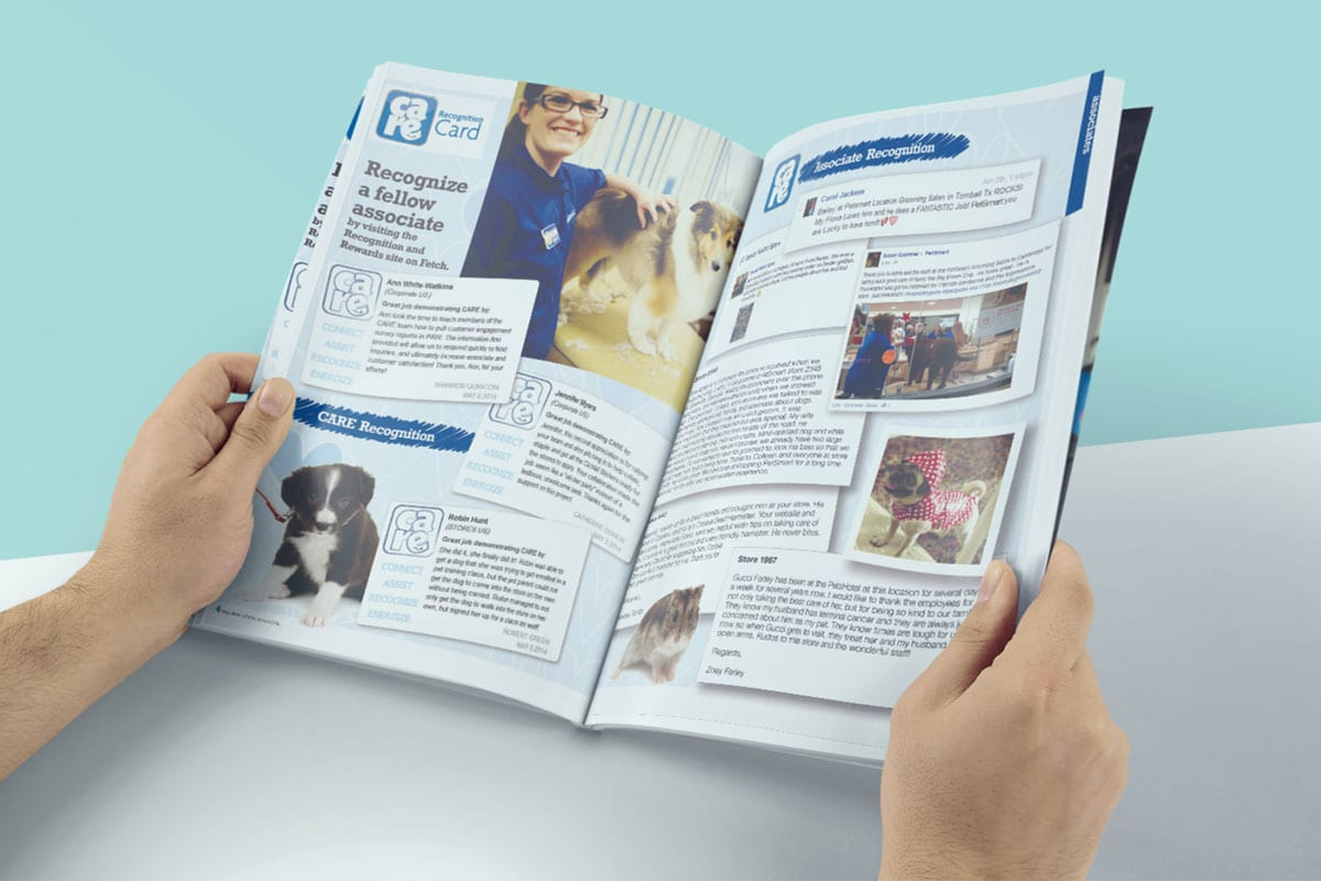 Speak Magazine | Design Services | Petsmart | Case Studies | Big Marlin Group
