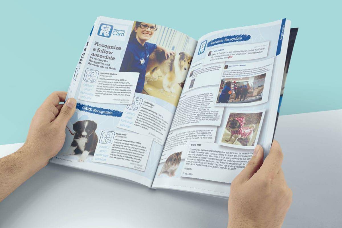 Speak Magazine | Design Services | Petsmart | Big Marlin Group