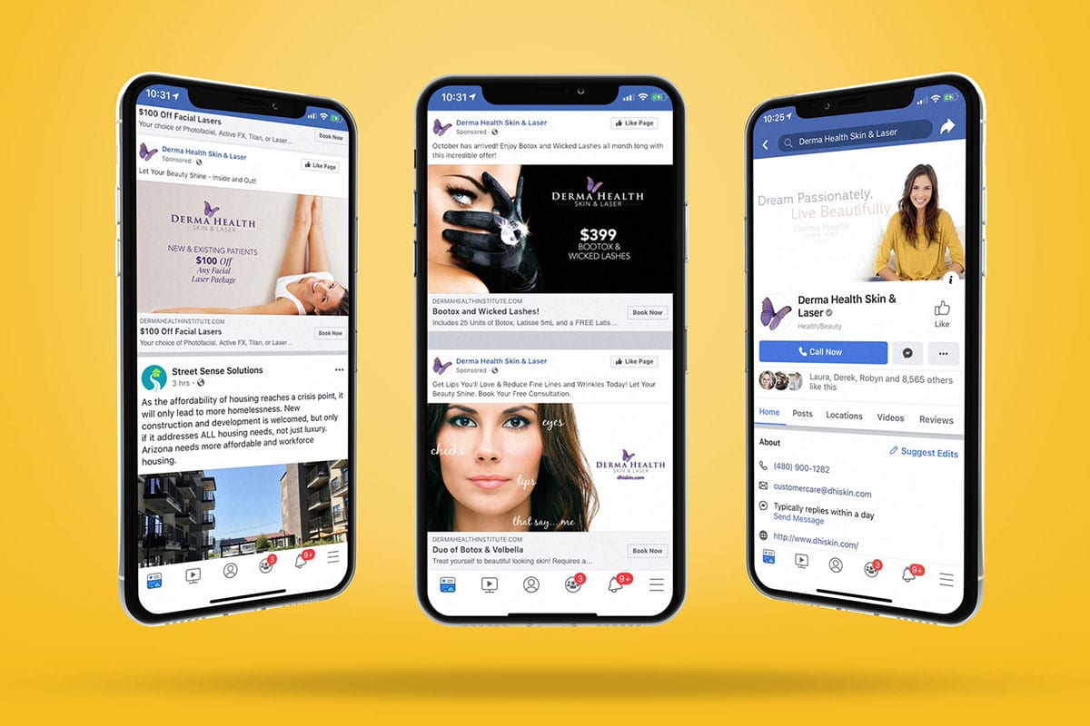 Derma Health | Social Media | Big Marlin Group