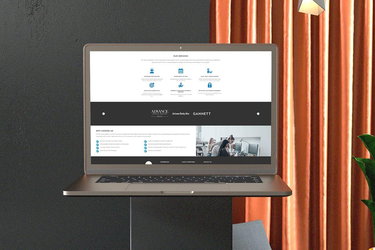 Cirtech Website | Laptop View | Case Studies | Big Marlin Group
