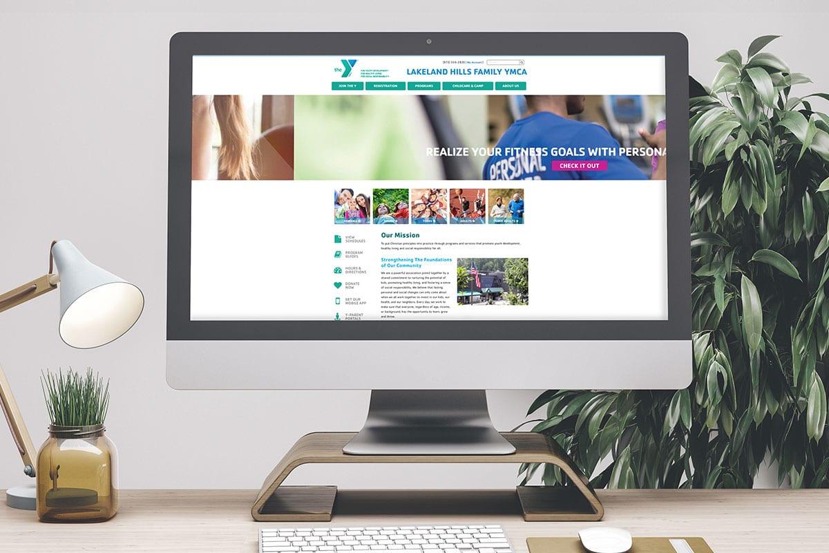 Improved Search Ranking   Web Development   Lakeland Hills Family YMCA   Big Marlin Group
