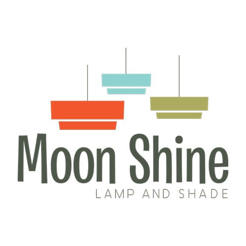 Moon Shine Lamp & Shade | Clients | Logo | Big Marlin Group