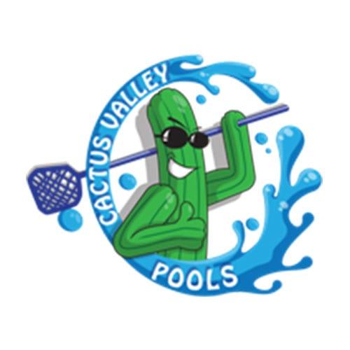 Cactus Valley Pools | Clients | Logo | Big Marlin Group