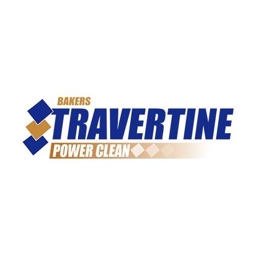 Baker's Travertine Power Clean | Clients | Logo | Big Marlin Group