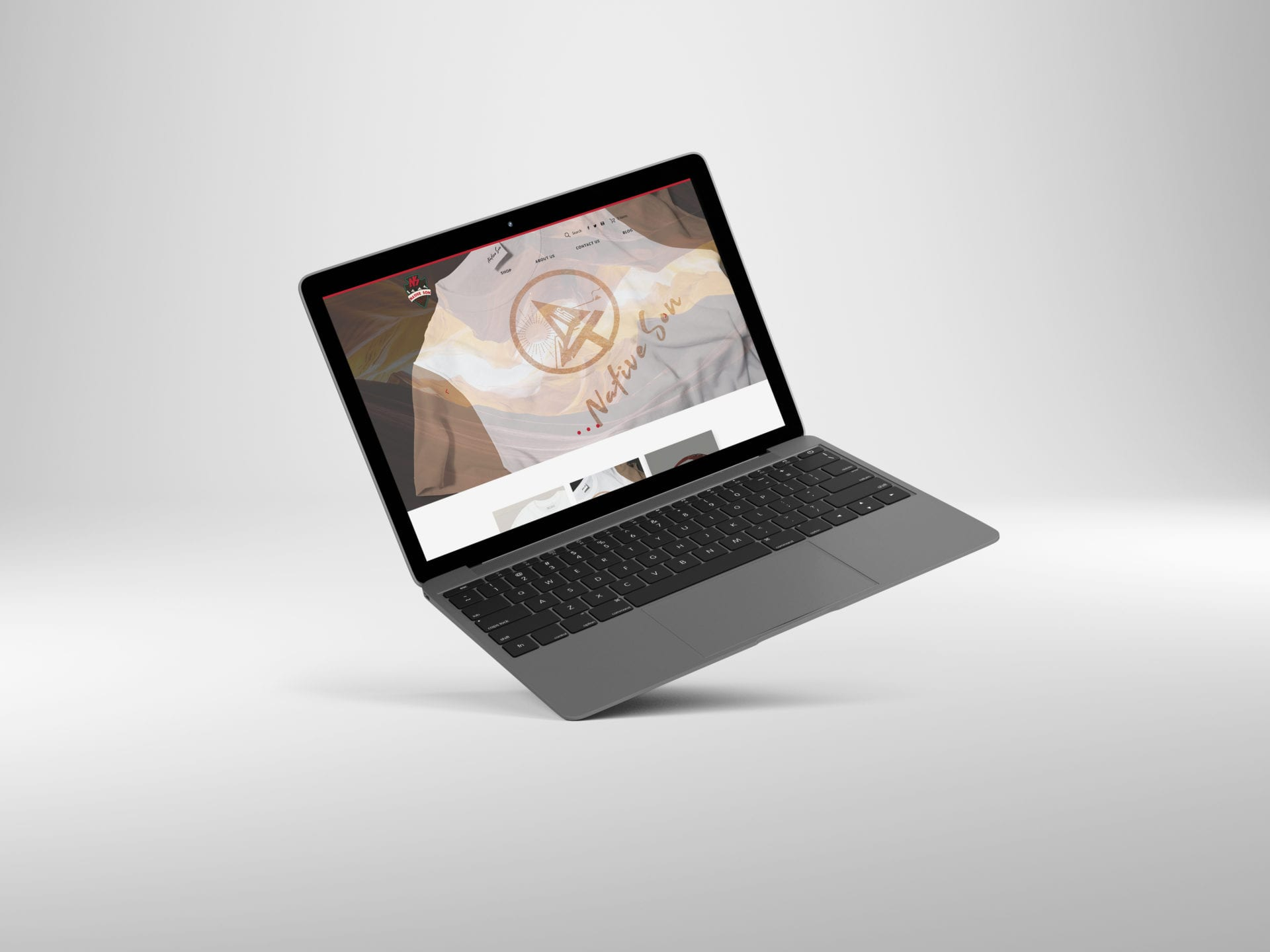Native Son - laptop